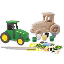 Kids Wood Crafts - john deere kids tractor wood craft kit home crafts u0026 hobbies