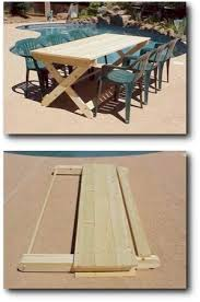 Diy Folding Wooden Picnic Table by 41 Best Diy Picnic Tables Images On Pinterest Picnics Home And