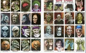 Halloween Monster Masks 1998 death studios catalog blood curdling blog of monster masks