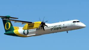 alaska airlines q400 oregon livery aviation