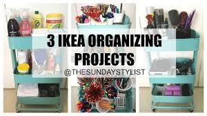 3 ikea raskog organizing ideas ikea hacks raskog trolley