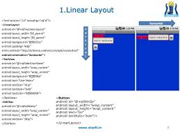 android layout width android screen containers layouts