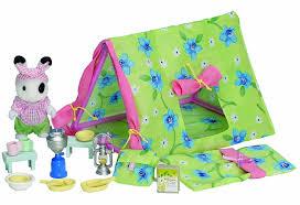 Sylvanian Families Garden Sylvanian Families Ingrid U0027s Camping Set Educational Toys Online