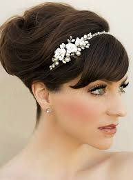 bridal headbands bridal headbands flower headband for brides hairstyles
