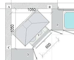 dimension meuble d angle cuisine dimension meuble d angle cuisine il dimension meuble angle cuisine