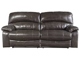 2 Seat Leather Reclining Sofa by Signature Design By Ashley Damacio Metal Leather Match 2 Seat