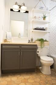 bathroom toilet shelf ideas a pair of vintage vanity lights wall