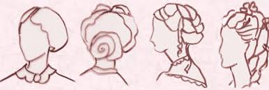 early victorian hairstyles and hats 1840 70