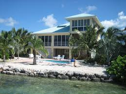 Tiki Hut On Water Vacation Sugarloaf Key House Rental Open Water Home With Pool Boat Lift