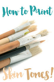 how to mix skin tones flesh tones with acrylic paint ashleypicanco