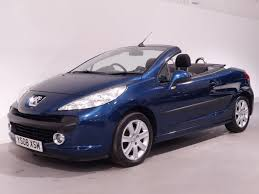 blue peugeot for sale used blue peugeot 207 cc for sale hampshire