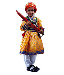 sbd shivaji maharaj fancy dress costume for kids buy sbd shivaji