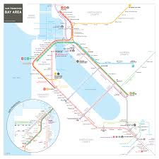Train Map New York by Map Of San Francisco United States Usa Map In The Atlas Of Google