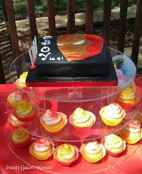 sweets galore iron man cake u0026 mini candy buffet
