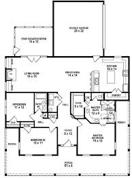 one level home plan with porches notable mfp single floor plans