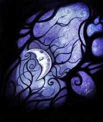the lovely moon to inspire lovely thoughts thoughts