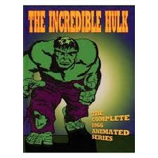 incredible hulk 1966 39 episodes cartoon dvd media