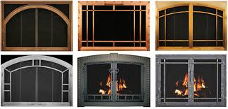 Ideas Fireplace Doors Excellent Hearth Craft Sentry Contemporary Stock Masonry Fireplace