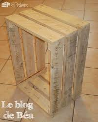 diy recycled pallet bedside table u2022 1001 pallets
