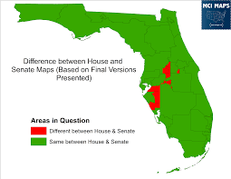 Florida Maps Looking At The Florida Redistricting Maps Offered By The