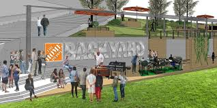 will home depot honor black friday georgia dome to give way to park dubbed home depot backyard
