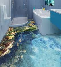 unique bathroom flooring ideas best 25 3d floor ideas on 3d flooring floor cool