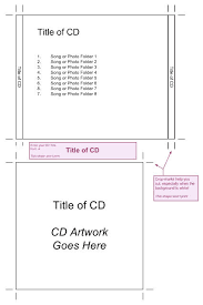 ideas collection cd cover template publisher 2010 in sheets