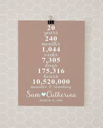 20th anniversary gifts for 20 year wedding anniversary gifts wedding gifts wedding ideas