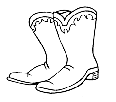 coloring pages printables cowboy boots tattoo u2013 cliparts epin