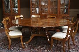 16 ethan allen dining table chairs trafalgar square dining