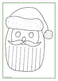 holiday craft worksheets 7 best images of printables santa
