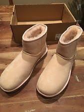 womens shearling boots size 11 ugg australia size 11 s mini zip boot 1008580
