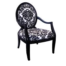 Black And White Upholstered Chair Design Ideas Chair Fabric Accent Chairs With Arms Chair Enjoyable Design