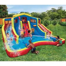bounce house inflatable water slide bouncer jumper waterslide
