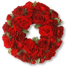 tree company 15 artificial velvet wreath
