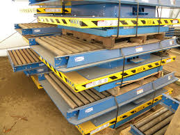 used electric lift table used hydraulic lift tables by sjf com material handling
