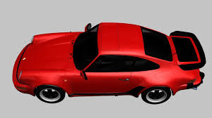 porsche turbo classic porsche 911 turbo 1982 3d asset cgtrader