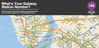 Subway Train Map by What U0027s Your Subway Station Number Find Out With This Interactive