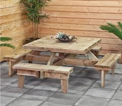 Round Redwood Picnic Table by Round Picnic Table Plans Woodworking Pinterest Round Picnic