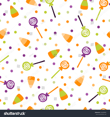 background of halloween vector illustration seamless pattern background halloween stock