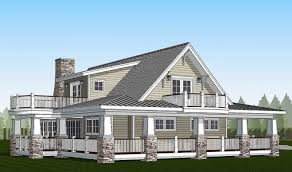 southern sweetheart with wraparound 32585wp architectural country