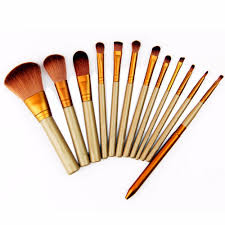 12 pcs beauty essential makeup brushes set maquiagem cosmetic make
