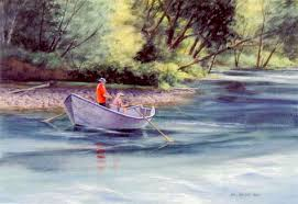 mel vincents cards drift boat fishing on the