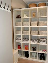 Ikea Laundry Room Storage Laundry Room Storage Ideas Using Ikea Expedit Or Kallax Cubby Shelves