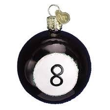 8 ball christmas ornament 44020 old world christmas