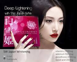 Suntik Pemutih Badan Di jual injeksi pemutih kulit sw japan whitening sw 01 produk