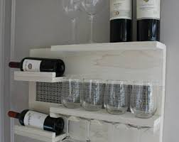 hanging wine rack etsy