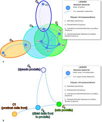 behaviors mapped by new geographies ichnonetwork analysis of the