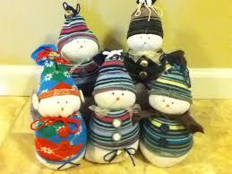 dooper sock snowmen 5 steps with pictures