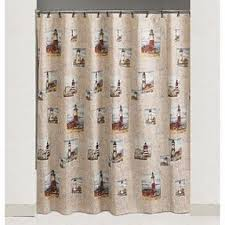 Lighthouse Window Curtains Lighthouse Shower Curtain Foter